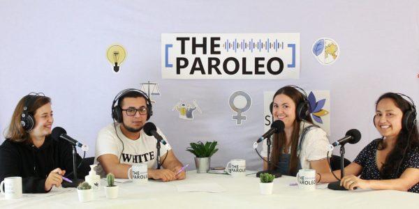 """Debate sobre """"Voluntariado e xente nova"""" con Ana, Mario e Mariluz."""